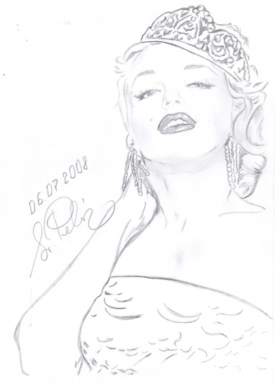 Marilyn Monroe by svetliaciok